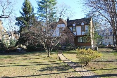 Mountain Lakes Boro Single Family Home For Sale: 072 Blvd
