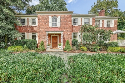 West Orange Twp. Single Family Home For Sale: 10 Tulip Ave