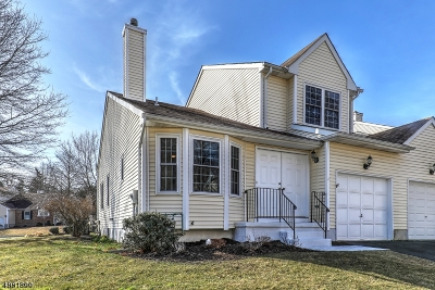 Branchburg Twp. Condo/Townhouse For Sale: 2 Watchung Trl