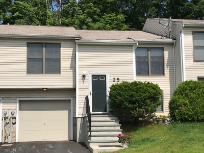 Hardyston Twp. Condo/Townhouse For Sale: 28 Moss Ct