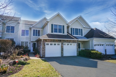 Hardyston Twp. Condo/Townhouse For Sale: 62 Briar Ct