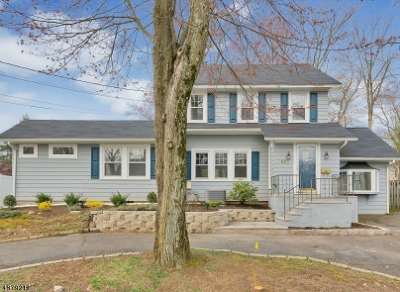 Mountainside Single Family Home For Sale: 221 Evergreen Ct