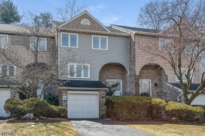 Parsippany Condo/Townhouse For Sale: 135 Patriots Rd