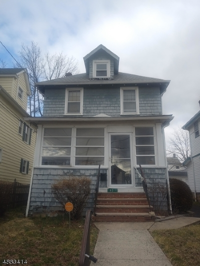 Westfield Town NJ Single Family Home For Sale: $375,000