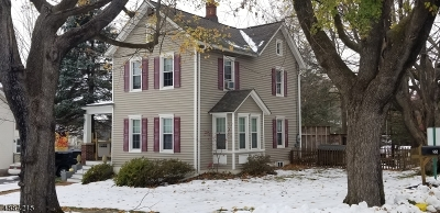 Bloomsbury Boro Single Family Home For Sale: 55 East St