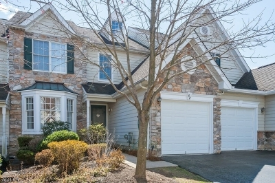 Bernards Twp. Condo/Townhouse For Sale: 57 Patriot Hill Dr