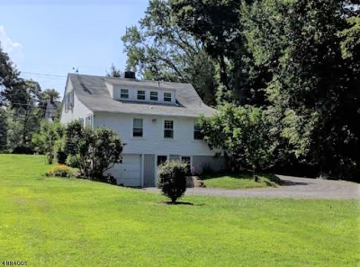 Tewksbury Twp. Single Family Home For Sale: 10 Old Turnpike Rd