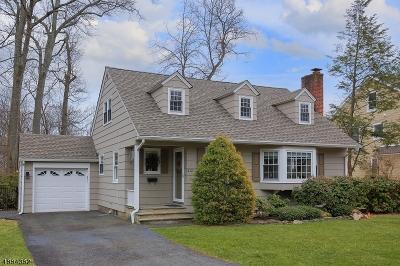Mountainside Boro Single Family Home For Sale: 232 Evergreen Ct