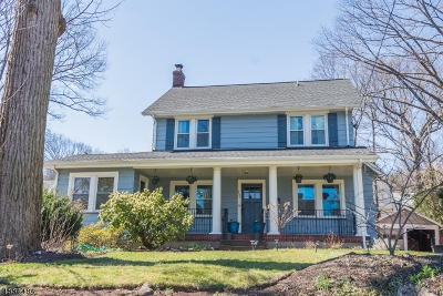 West Orange Twp. Single Family Home For Sale: 157 Gregory Ave