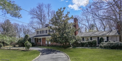 Scotch Plains Twp. Single Family Home For Sale: 10 Heritage Ln