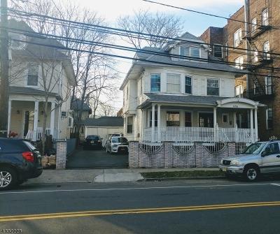 Newark City Single Family Home For Sale: 474-476 Clifton Ave