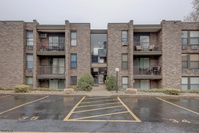 Nutley Twp. NJ Condo/Townhouse For Sale: $259,000