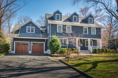 Chatham Twp. Single Family Home For Sale: 43 Rose Ter