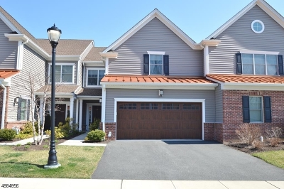 Morris Twp. Condo/Townhouse For Sale: 44 Whitney Farm Pl