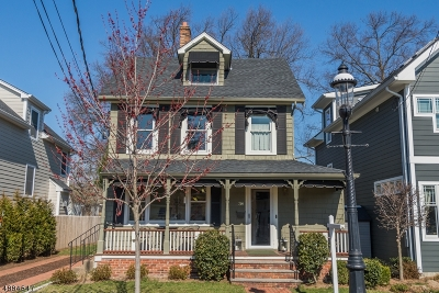 Madison Single Family Home For Sale: 34 Central Ave