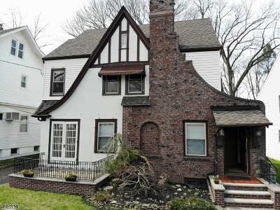 Passaic City Single Family Home For Sale: 188 Garfield Ave