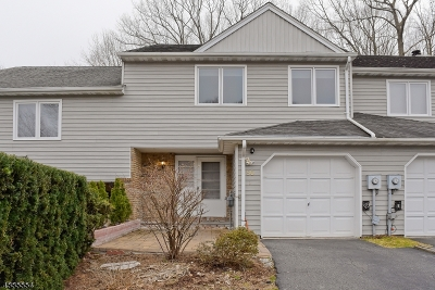 Parsippany-Troy Hills Twp. Condo/Townhouse For Sale: 86 Stockton Ct