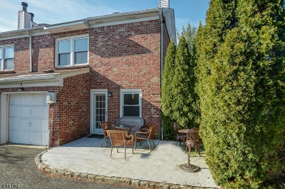 Scotch Plains Twp. Condo/Townhouse For Sale: 9 Tisbury Ct