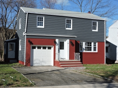 West Orange Twp. Single Family Home For Sale: 41 Buckingham Rd