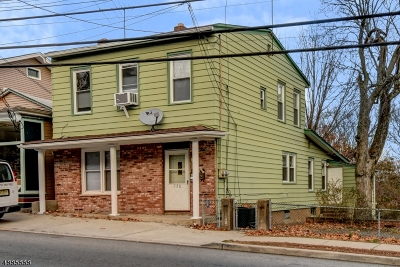North Haledon Boro Multi Family Home For Sale: 750 Belmont Ave