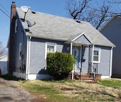Linden City Single Family Home For Sale: 404 Cranford Ave