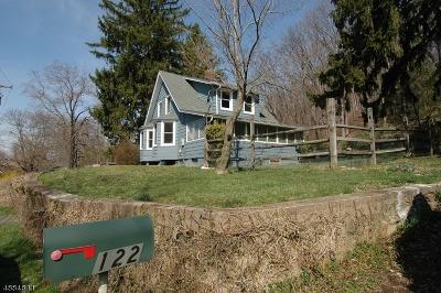 Bethlehem Twp., High Bridge Boro Single Family Home For Sale: 122 Cregar Rd