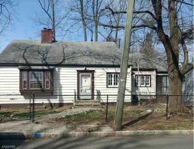 West Orange Twp. Single Family Home For Sale: 47 Blackburne Ter