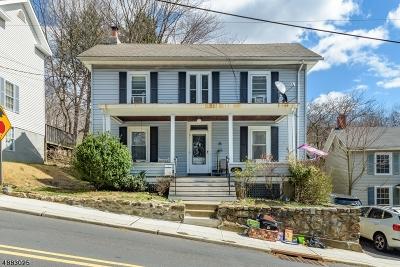 Bethlehem Twp., High Bridge Boro Single Family Home For Sale: 15 Mill St