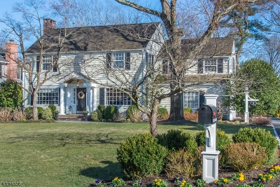 Chatham Twp. Single Family Home For Sale: 5 Overlook Rd.