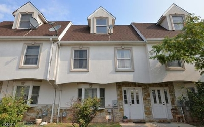 Newark City NJ Condo/Townhouse For Sale: $375,000