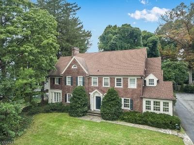 Glen Ridge Boro Twp. Single Family Home For Sale: 126 Ridgewood Ave