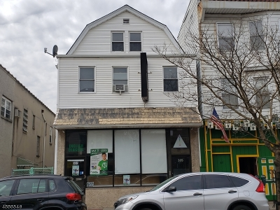 Kearny Town Commercial For Sale: 335 Kearny Ave