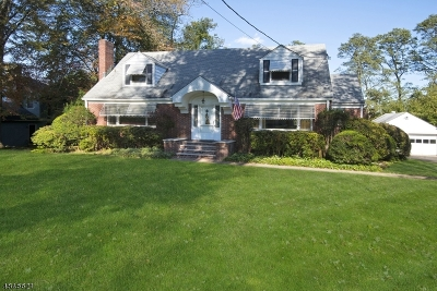 Morristown Town, Morris Twp. Single Family Home For Sale: 3 Westminster Pl