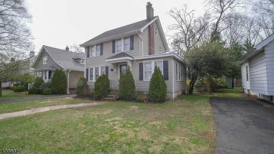 Westfield Town Single Family Home For Sale: 829 W North Ave