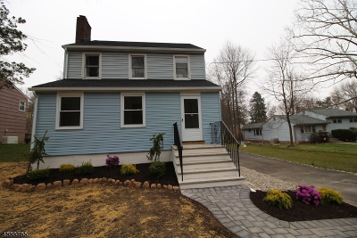 West Orange Twp. Single Family Home For Sale: 14 Dawes Ave