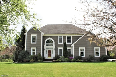 Bernards Twp. Single Family Home For Sale: 68 Deer Creek Dr