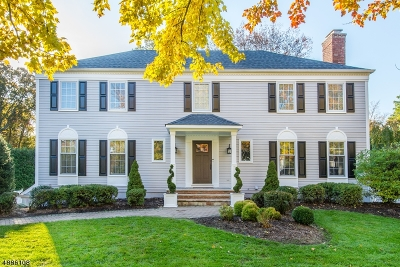 Chatham Twp. Single Family Home For Sale: 29 Peppermill Rd