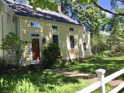 Harding Twp. Single Family Home For Sale: 24 Lees Hill Rd