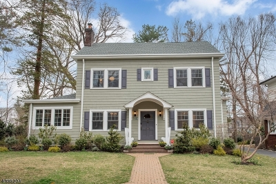 Montclair Twp. Single Family Home For Sale: 29 Warren Pl