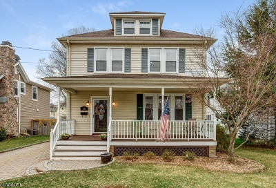 Morris Plains Boro Single Family Home For Sale: 16 Maple Ave