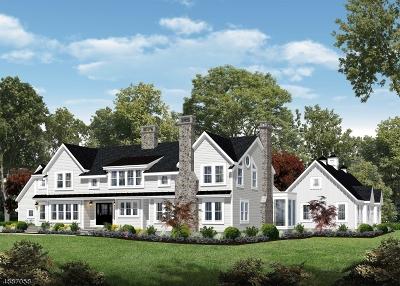 Harding Twp. NJ Single Family Home For Sale: $3,599,000