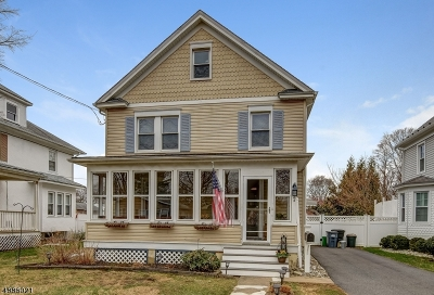 Morris Plains Boro Single Family Home For Sale: 24 Franklin Pl