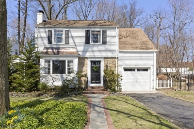Morristown Single Family Home For Sale: 11 Continental Ave