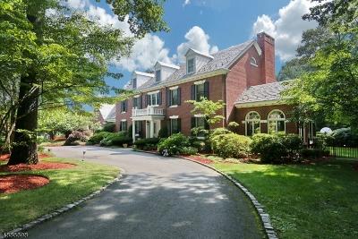 Franklin Lakes Boro Single Family Home For Sale: 737 Oneida Trl