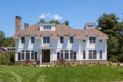 Chatham Twp. Single Family Home For Sale: 60 Linden Ln