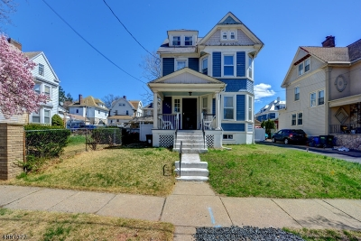 Newark City Single Family Home For Sale: 565-567 Highland Ave