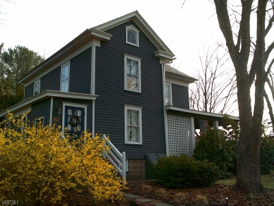 Frenchtown Boro Single Family Home For Sale: 51 Everittstown Rd