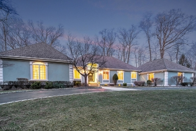 Franklin Lakes Boro Single Family Home For Sale: 643 High Mountain Rd
