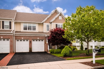 Hunterdon County Condo/Townhouse For Sale: 294 Holcombe Way