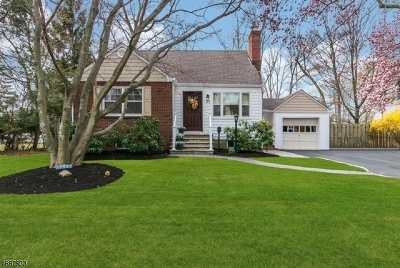 Fanwood Boro Single Family Home For Sale: 189 Farley Ave
